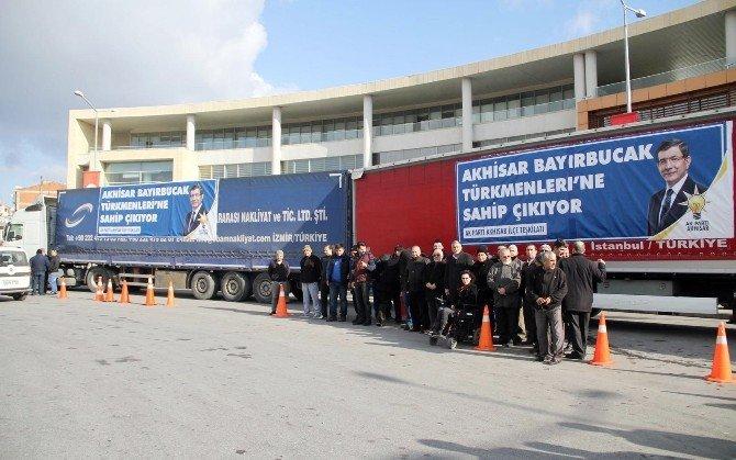 AK Parti Akhisar İlçe Teşkilatı'ndan Bayırbucak Türkmenlerine Büyük Destek