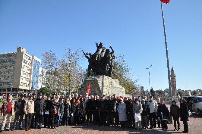 Uğur Mumcu Antalya'da Anıldı