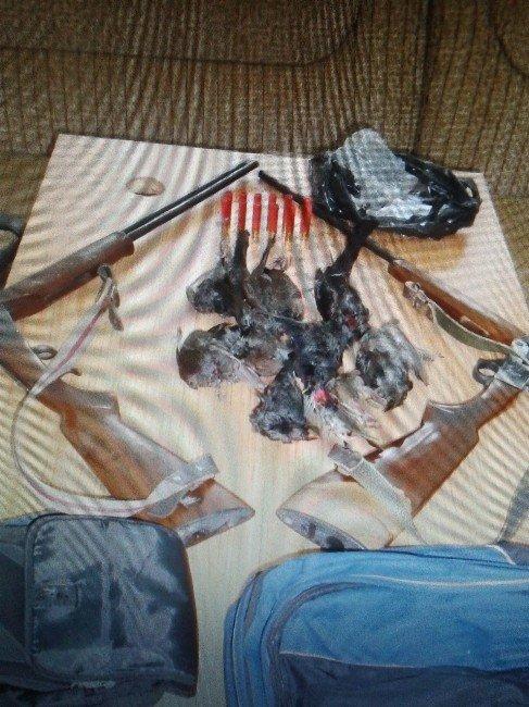 Amasra'da Kaçak Avlanan 2 Kişi Gözaltı Alındı