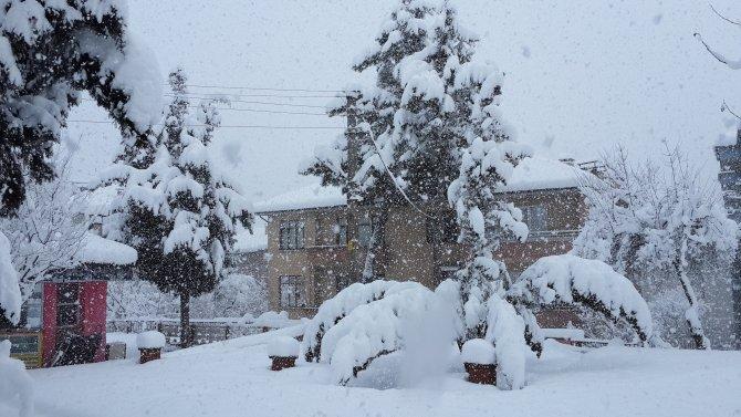 Bartın'da 110 köy yolu kapalı