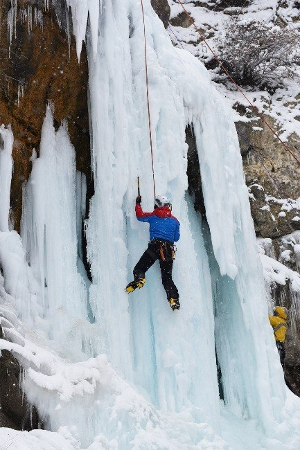 Uluslararası Buz Tırmanış Festivali Başladı