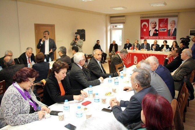 CHP Çukurova İlçe 6. Danışma Kurulu Toplantısı