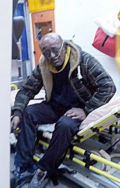 Elektrikli Battaniyeden Çıkan Yangında 1 Kişi Yaralandı