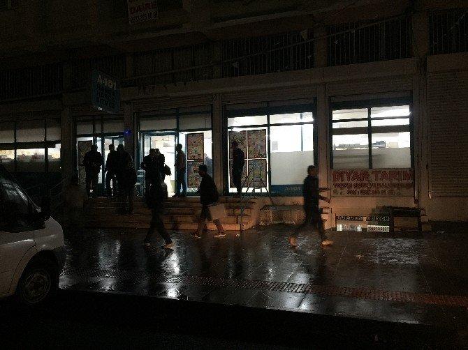 Diyarbakır'da Markete Molotoflu Saldırı: 1 Kişi Dumandan Zehirlendi