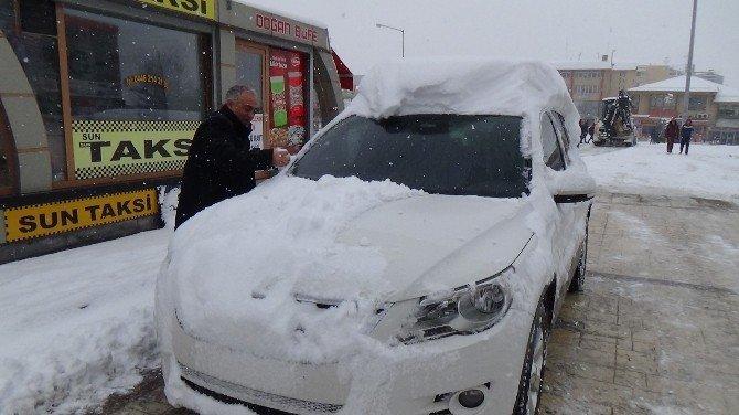 Erzincan'da Yoğun Kar Yağışı