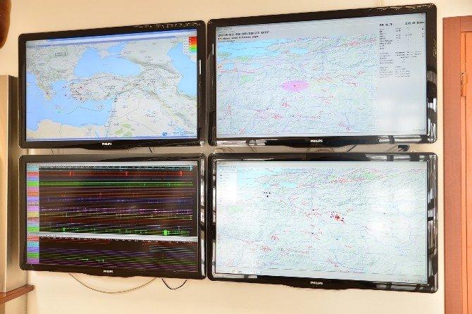 Tepebaşı'nda Depremler Yakından Takip Ediliyor