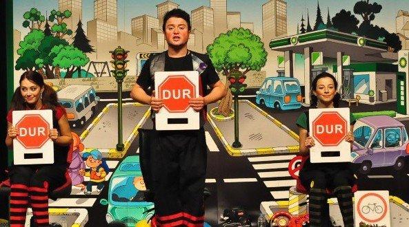 Göktürklü Çocuklar Trafik Kurallarını Eğlenerek Öğrendi