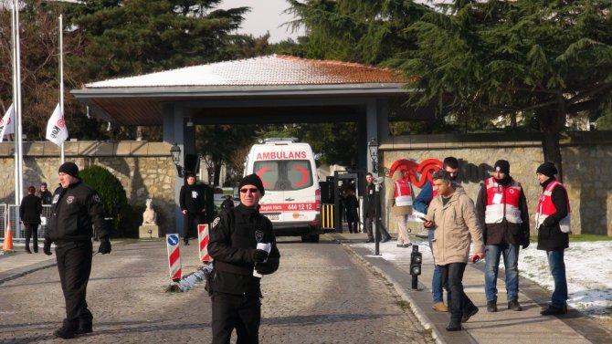 Mustafa Koç için holding binasında tören düzenlendi