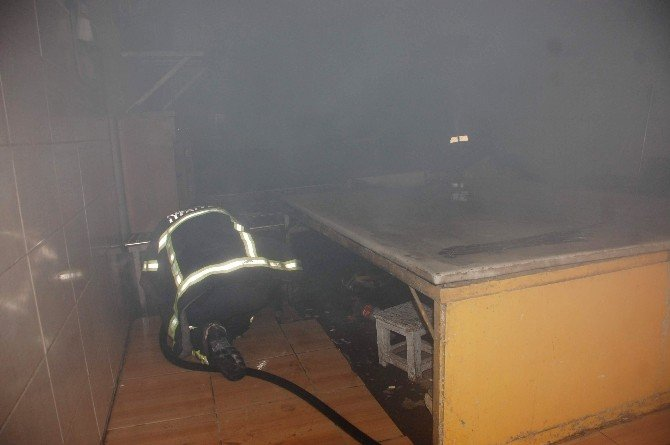 Pide Fırınında Yangın