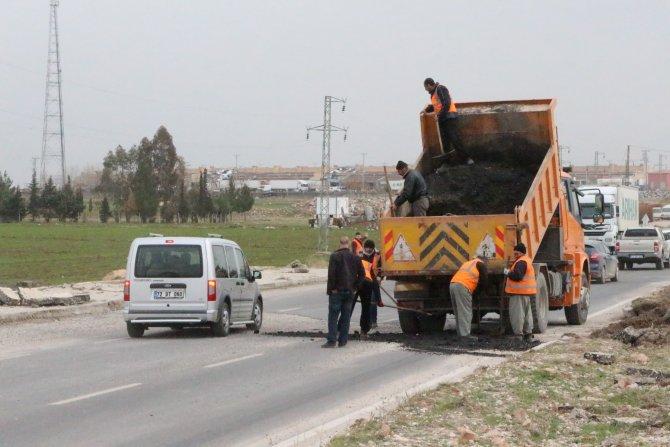 Nusaybin'de patlamada hasar gören İpek Yolu onarıldı