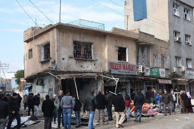 Nusaybin'de Polis Aracına Saldırı