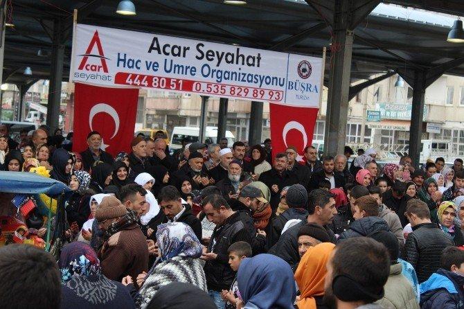 Başkan Akdoğan, Umre Yolcularını Kutsal Topraklara Uğurladı