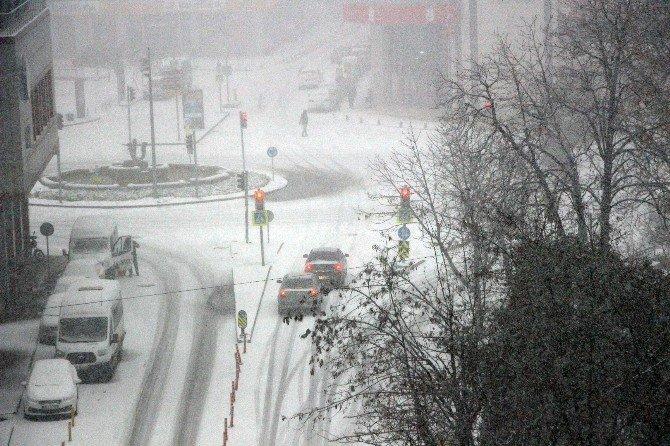 Samsun'da Kar Fırtınası