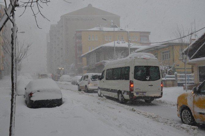 Karadeniz'de Kar Çilesi