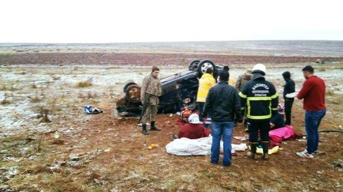 Şanlıurfa'da Otomobil Takla Attı: 3 Ölü, 5 Yaralı