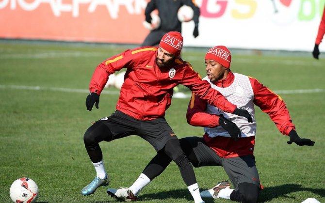Galatasaray'da Kastamonuspor maçının hazırlıkları ara vermeden başladı