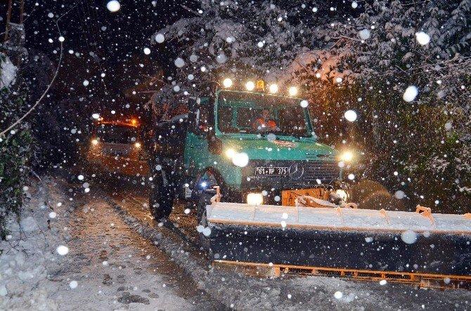 Trabzon Karla Mücadele Ediyor