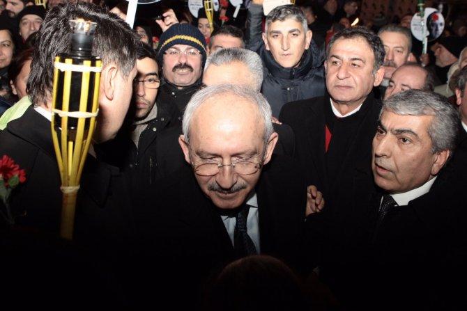 Uğur Mumcu, Kılıçdaroğlu'nun katıldığı yürüyüşle anıldı