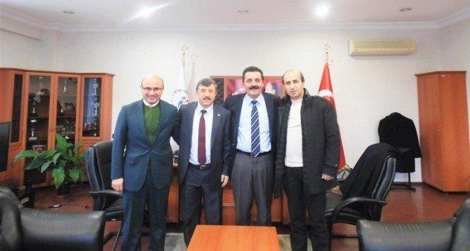 Belediye Başkanlarından Kaplan'a Ziyaret