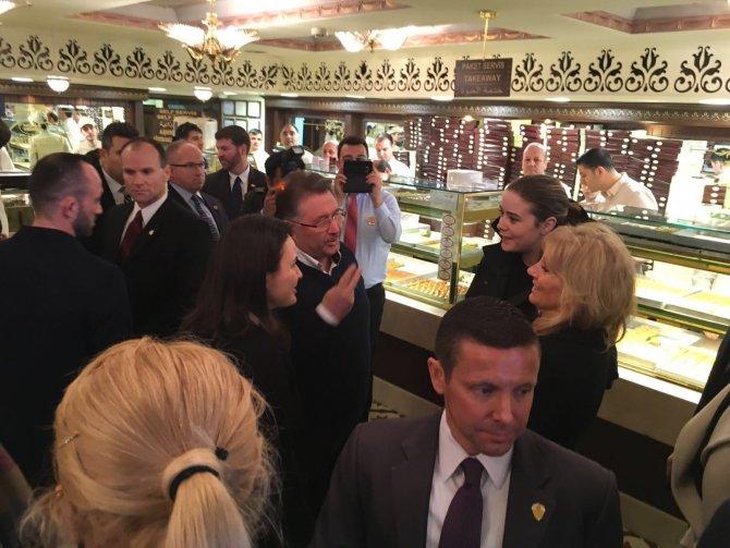 Biden eşi Jill Biden Amerika'ya 40 kilo baklava götürmüş