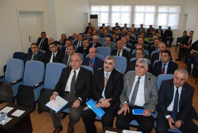 2016 Yılının İlk Koordinasyon Toplantısı Yapıldı