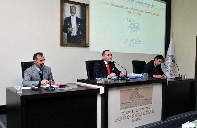 Afyonkarahisar İl Koordinasyon Kurulu Toplantısı Yapıldı