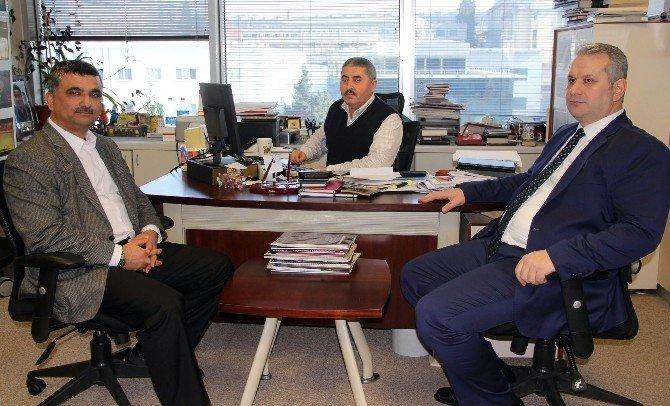 AK Parti İstanbul Milletvekili'nden İhlas Haber Ajansı'na Ziyaret