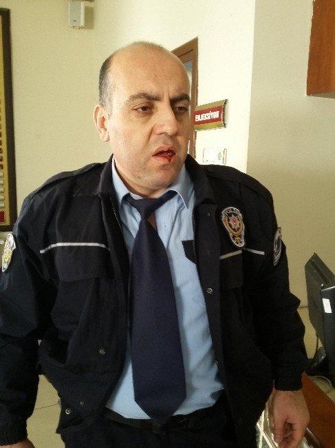 Hırsızlıktan Aranan Şüpheli, Polislere Saldırdı