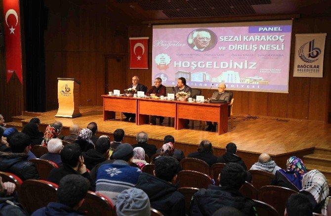 """Bağcılar'da """"Sezai Karakoç Ve Diriliş Nesli"""" Paneli"""