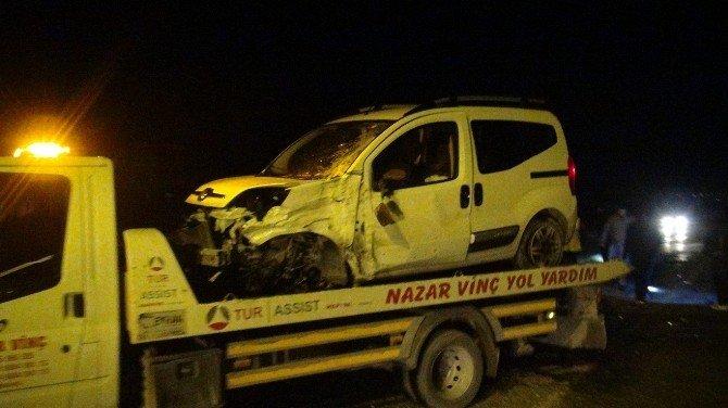 Batman'da Üç Ayrı Trafik Kazasında 10 Kişi Yaralandı