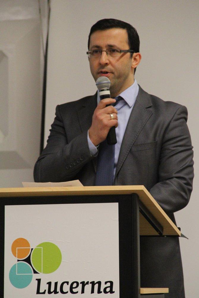 Lucerna Koleji'nde konuşan bakan: Brüksel'in geleceğini birlikte yazmalıyız