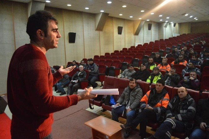 Belediye Personeline 'İş Güvenliği Eğitimi'
