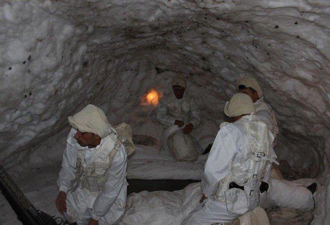 Bitlis'in Karlı Dağları Komandolara Emanet