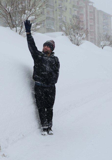 Bitlis'te Kar Esareti