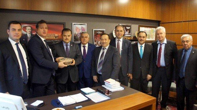 Aydın Ticaret Borsası Milletvekillerine Taleplerini İletti