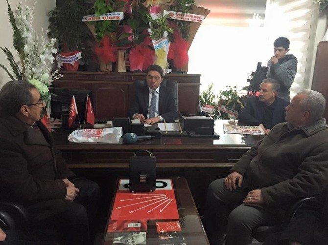 CHP Malatya İl Başkanı Enver Kiraz'a Hayırlı Olsun Ziyaretleri Sürüyor