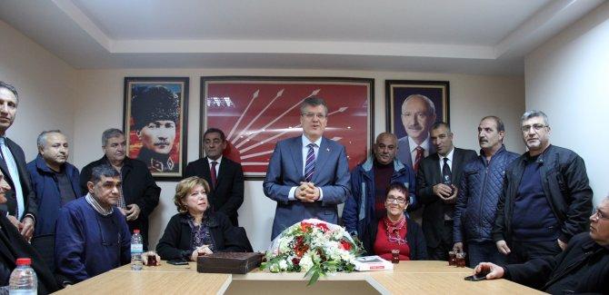 CHP İl Başkanı Barut'u duygulandıran ziyaret