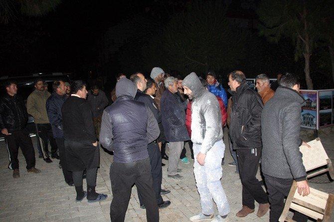 Didim'de Geceyi Patlayan Elektrik Trafoları Aydınlattı