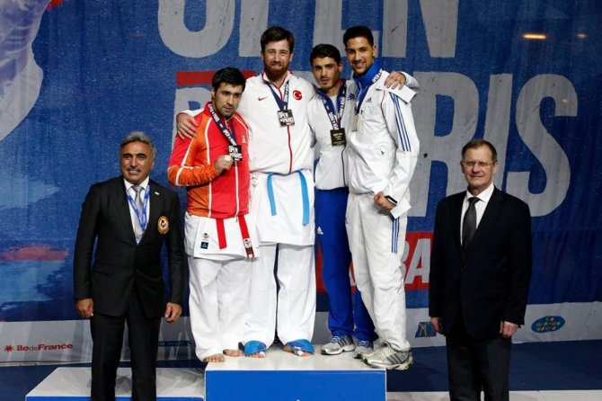 Karate 1 Premier League Paris Open'dan 7 madalya çıktı