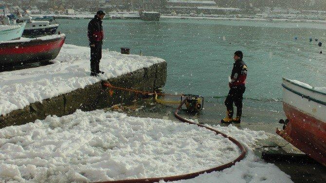 Deniz Suyu İle Karla Mücadele
