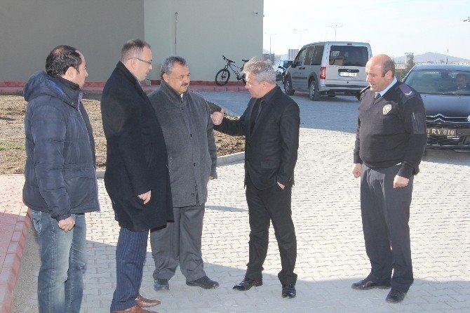 Yeni Emniyet Binasına Başkan Uysal'dan Ziyaret