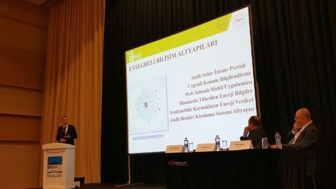 Enerji Fuarına Tepebaşı'nın Akıllı Kent Projesi Damga Vurdu