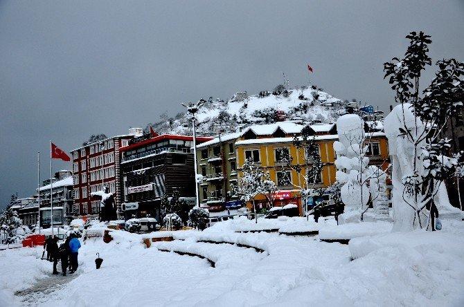 Giresun'da Kar Seferberliği