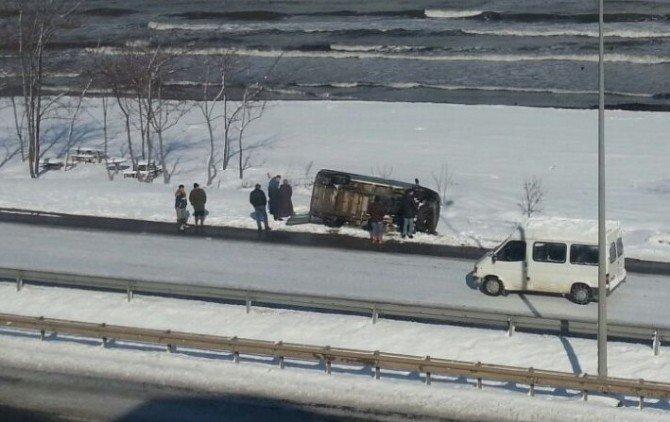 Kar, Kazaları Artırdı