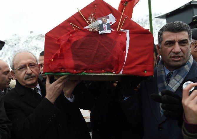 Kamer Genç İçin Tunceli'de Cenaze Töreni Düzenlendi