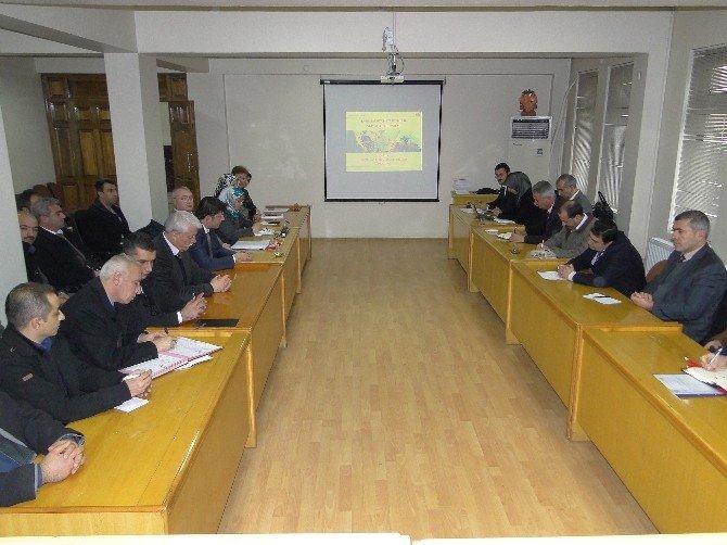 İstatistik Bilgi Sistemi Toplantısı Yapıldı