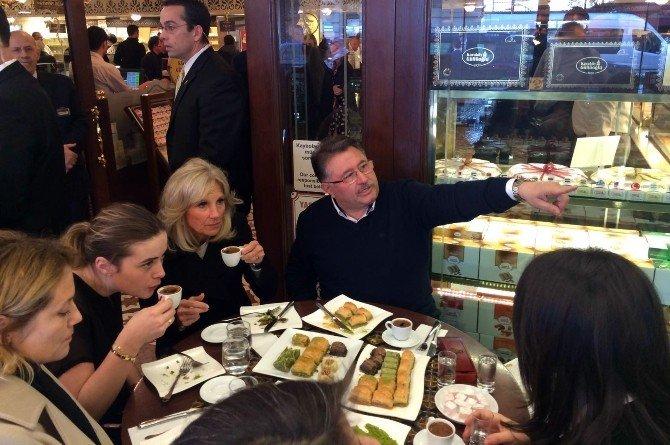 Joe Bıden'in Eşinden Obama'ya 40 Kilo Baklava