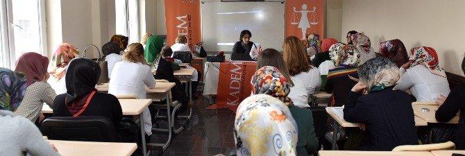 """Büyükşehir'den, """"Kadın Yasal Hakları Eğitimi"""""""