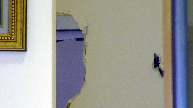 Kentsel dönüşüm nedeniyle boşaltılan binada büyük soygun