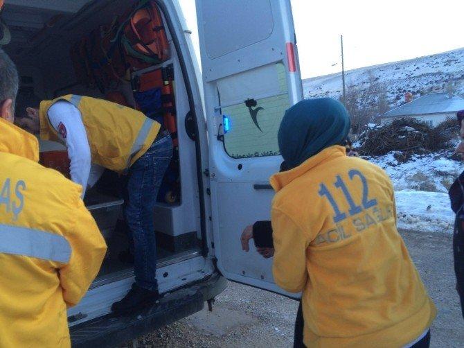 112 Acil Personeli Donmaktan Son Anda Kurtarıldı